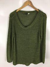 DIVIDED Pullover, grün, Größe 42