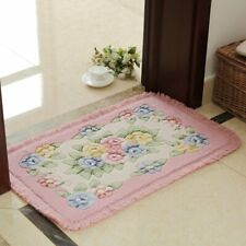 Flower Printings Carpet Bathroom Rug Mats Anti-slips Bottom Bath Mat Carpets New