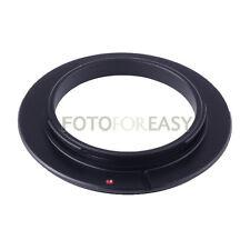 Adaptador de Lente 49mm Macro inverso /& Protección Filtro Anillo Canon EOS EF EFS Montaje