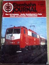 Eisenbahn Journal 1 1987  -- Uber 140 Farbbilder