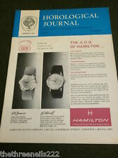 HOROLOGICAL JOURNAL - AUG 1965 - RATING TIMING MACHINES