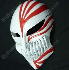 Anime Bleach Hollow Ichigo Kurosaki Full Face Halloween Cosplay Props PVC Mask
