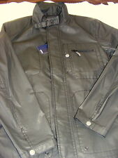 Hickey Style Brand by Hickey Freeman Coated Cotton Moto Jacket NWT $295 Medium