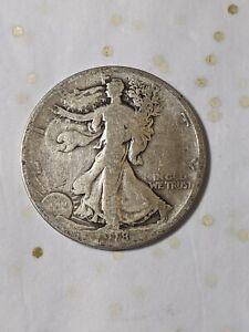 1918-S San Francisco Mint Silver Walking Liberty Half F16