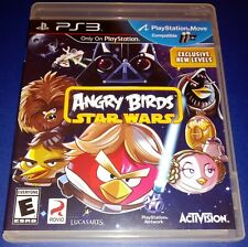 PS3 Angry Birds: Star Wars (Sony PlayStation 3) 2013 Game Tested CIB GUC