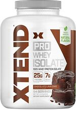 Scivation Xtend Pro 100% Whey Protein Isolate Powder with 7g BCAA & Natural F...