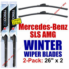 WINTER Wiper Blades 2pk Premium - fit 2011-2012 Mercedes-Benz SLS AMG - 35260x2