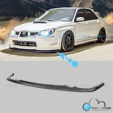 For 06-07 Subaru Impreza WRX STI S204 CS1 Style Front Bumper Lip Splitter