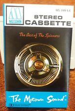 THE BEST OF THE SPINNERS CASSETTE TAPE