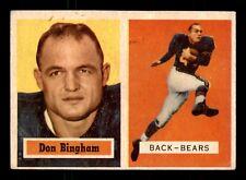 DON BINGHAM 1957 TOPPS 1957 NO 117 VGEX+ 19335