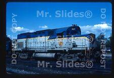 Original Slide D&H Delaware & Hudson ALCO C420 407 East Deerfield MA 1985