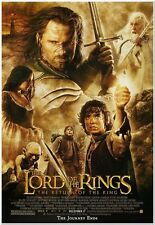 LORD OF THE RINGS: ROTK - 2003 - Original 27x40 Movie Poster - AA BEST PICTURE!!
