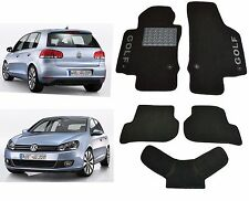 Volkswagen Golf VI 2008-2012 Fully Tailored Classic Carpeted Car Floor Mats VW