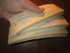 SOVIET RUSSIA, ESTONIA, TALLINN HORSE RACING TRACK TICKET BOOKS