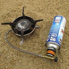 Picknick-Brenner Patrone Gas Benzinkanister Herddosen Adapter Konverterkopf NIU