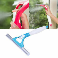 1Pcs Cleaning Cleaner Window Spray Practical Brush Wiper Scraper Color Random