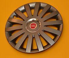 """FIAT CROMA... 16"""" LOOK IN LEGA PER AUTO Copricerchi/COVERS, tappi, quantità 4"""