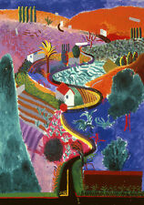 "David-Hockney-Nichols-Canyon Canvas Wall Art ""20x30"""