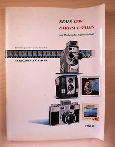 Rare 1959 Sears Camera Catalog & Photographic Reference Guide - 87 pages - F/S
