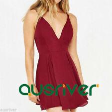 Unbranded Chiffon V-Neck Dresses for Women