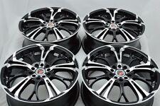 17 Drift Rims Wheels Jetta ES350 Optima Prius V Matrix Camry Civic 5x100 5x114.3