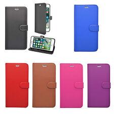 Pour Apple Iphone 7 Plus Clapet Cuir Pu Protecteur D'Écran Divers Colors COQUE