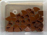 35 NEW LEGO Trans-Orange Tile Round 1 x 1