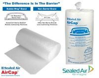 Aircap Bubble Wrap Small or Large Bubbles 300 500 or 750mm Wide