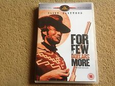 For A Few Dollars More 2 disc DVD new not sealed Clint Eastwood Classic FREEPOST