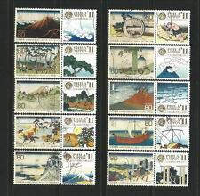 Japan 2011 'PHILANIPPON-Letter Writing With Tab' Complete Set In FU Condition