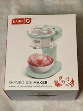 Dash 12 Lightweight Shaved Ice Maker With Recipe Guide Brand New Open Box