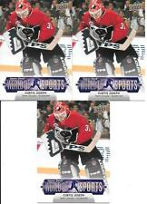 CURTIS JOSEPH TEAM CANADA 2011 UPPER DECK WORLD OF SPORTS #165 NICE (3) CARD LOT