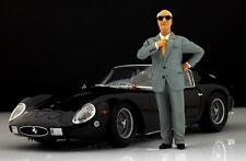 Enzo Ferrari personnage pour 1:18 Kyosho f40 250gto TESTAROSSA Mr Very Rare!