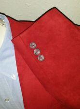 38R NEU Saks 5th Avenue Velours-Rauchen Abend Rot Sport Mantel Blazer Jacke Männer