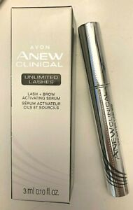 AVON Anew Clinical Unlimited Lashes Lash & Brow Activating Serum (Sealed) treat