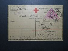 Italy 1918 POW Card to Austria (II) - Z11330