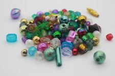 120 pce Colour Mix Acrylic Spacer Beads Various shapes & sizes