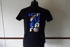 Official Licensed Men's Chelsea Football Club L Black T Shirt