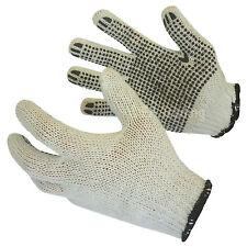 50 PAARE Arbeitshandschuhe Strickhandschuhe Noppenhandschuhe Handschuhe