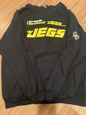 JEGS Apparel and Collectibles 732 JEGS Black Hooded Sweatshirt Track Tested