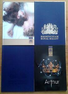 Individual Birmingham Royal Ballet BRB programmes 2000-2016 Hippodrome programme