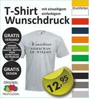 TOP T-Shirt mit Wunschdruck, Logo, Wunschtext, vom Profi entwerfen lassen  #18