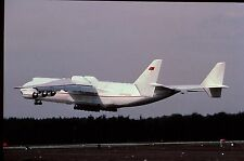 Duplicate colour slide An-225 Myra CCCP-82060 of Russian Air Force