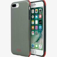 TUMI Protection Case Brushed Gunmetal/Red for Apple iPhone 7+