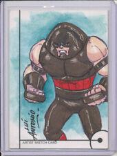 2013 Marvel Fleer Retro Juggernaut Sketch Card by Lui Antonio 1/1