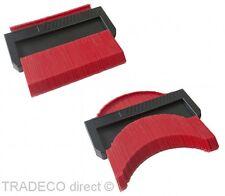 Sagoma contorno 160mm plastica per plasmare il LEGNO TASSELLI tappeto pavimento laminato