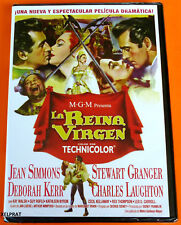 LA REINA VIRGEN George Sidney 1953 -DVD R2- Precintada