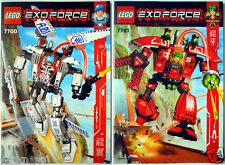 LEGO EXO-FORCE 7700 Stealth Hunter & 7701 Grand Titan * Good Condition, Used *