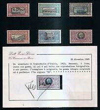 REGNO 1923 MANZONI SERIE CPL. INTEGRA L.5 MOLTO BEN CENTRATO  '