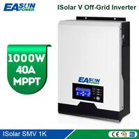 Solar Inverter 1000W 12V MPPT Off Grid 230V 40A Solar Charge 20A support lithium